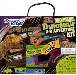 Discovery Kids Box Set - 3-D Dinosaur Adventure Kit