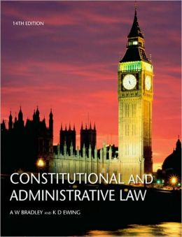 Constitutional & Administrative Law 14th UK edition supplement