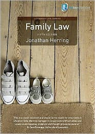 Family Law. Jonathan Herring