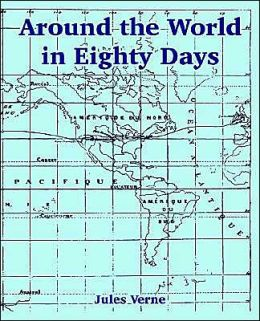Around the World in Eighty Days (Large Print Edition)