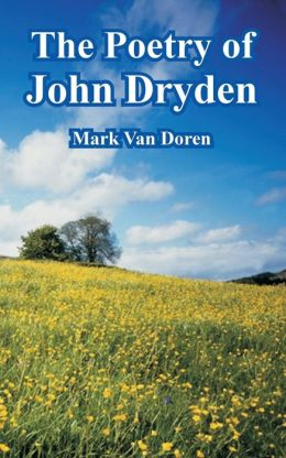 Poetry of John Dryden