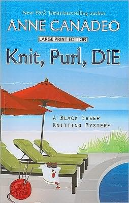Knit, Purl, Die (Black Sheep Knitting Series #2)