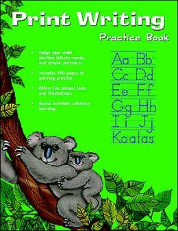 Print Writing Practice Book (Flash Kids Writing Skills Series)