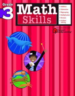 Math Skills, Grade 3 (Flash Kids Math Skills Series)