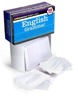 English Grammar (SparkNotes Study Cards)
