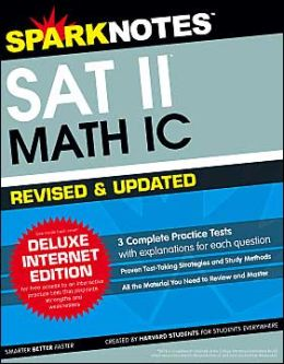 SAT II Math IC - Updated & Revised (SparkNotes Test Prep)