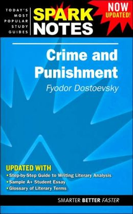 Crime and Punishment (SparkNotes Literature Guide Series)