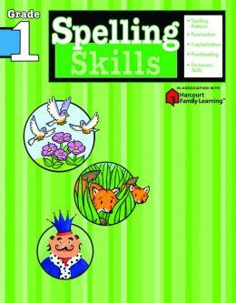 Spelling Skills, Grade 1 (Flash Kids Spelling Skills Series)