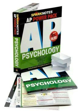 AP Psychology Power Pack (SparkNotes Test Prep)