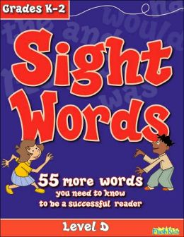 Sight Words: Level D (Flash Kids Sight Words and Phonics Series)