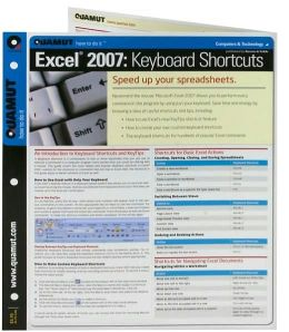 Excel 2007 Keyboard Shortcuts (Quamut)