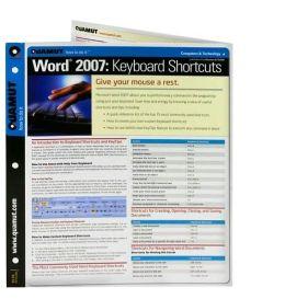 Word 2007 Keyboard Shortcuts (Quamut)