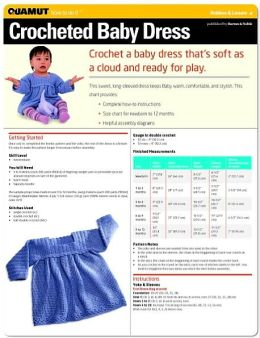 Crochet Project: Baby Dress (Quamut)