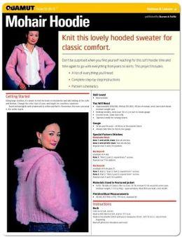 Knitting: Mohair Hoodie (Quamut)