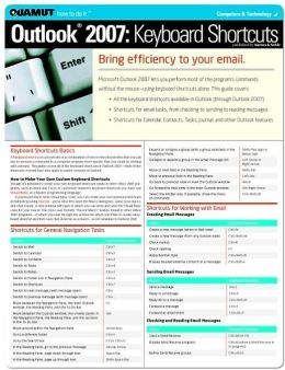 Outlook 2007 Keyboard Shortcuts (Quamut)