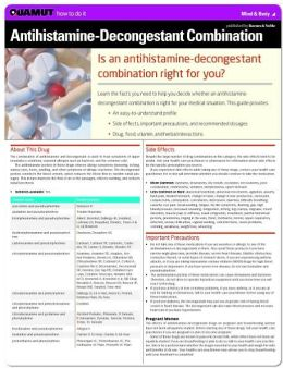 Antihistamine-Decongestant Combination (Quamut)
