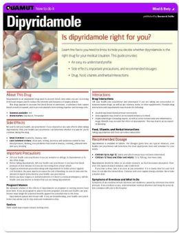 Dipyridamole (Quamut)