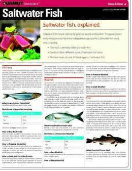 Saltwater Fish (Quamut)