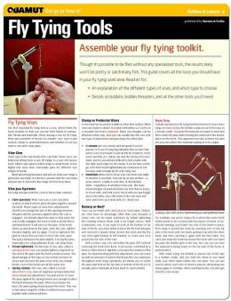 Fly Tying Tools (Quamut)