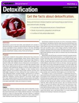Detoxification (Quamut)