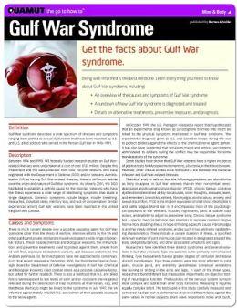 Gulf War Syndrome (Quamut)