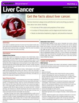 Liver Cancer (Quamut)