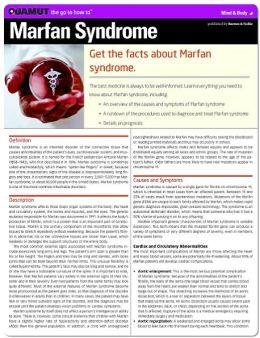 Marfan Syndrome (Quamut)