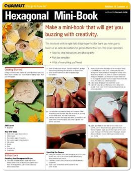 Paper Crafts Project: Hexagonal Mini-Book (Quamut)
