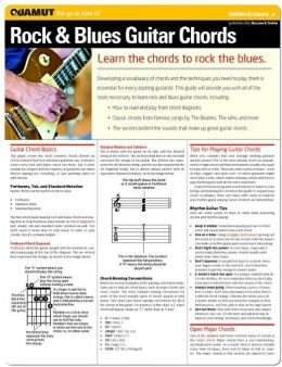 Rock & Blues Guitar Chords (Quamut)