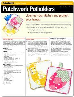 Sewing Project: Patchwork Potholders (Quamut)
