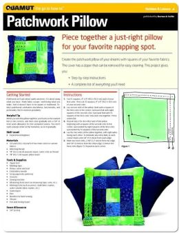 Sewing Project: Patchwork Pillow (Quamut)