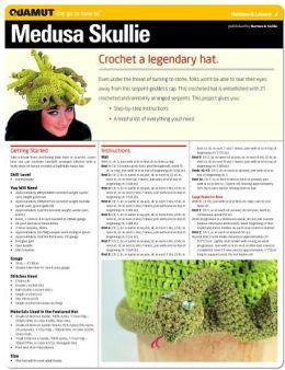 Crochet Project: Medusa Skullie (Quamut)
