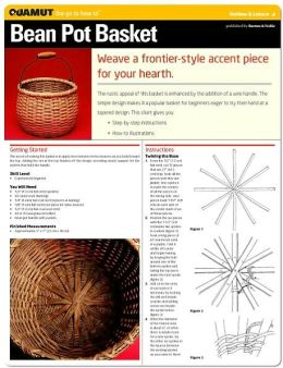 Basketry Project: Bean Pot Basket (Quamut)