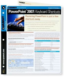 Powerpoint 2007 Keyboard Shortcuts (Quamut)