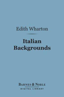 Italian Backgrounds (Barnes & Noble Digital Library)