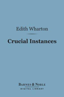 Crucial Instances (Barnes & Noble Digital Library)
