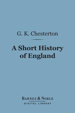 A Short History of England (Barnes & Noble Digital Library)