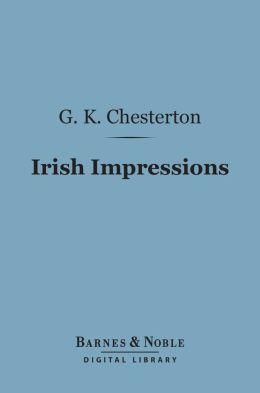 Irish Impressions (Barnes & Noble Digital Library)