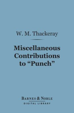 Miscellaneous Contributions to