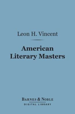 American Literary Masters (Barnes & Noble Digital Library)