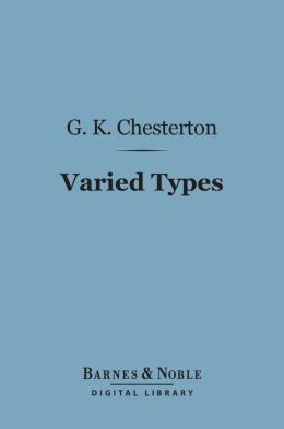 Varied Types (Barnes & Noble Digital Library)