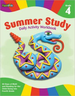 Summer Study Daily Activity Workbook: Grade 4 (Flash Kids Summer Study)