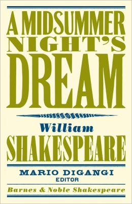A Midsummer Night's Dream (Barnes & Noble Shakespeare) (PagePerfect NOOK Book)