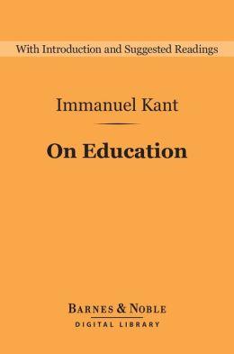 On Education (Barnes & Noble Digital Library)