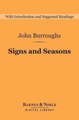 Signs and Seasons (Barnes & Noble Digital Library)