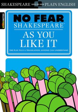 As You Like It (No Fear Shakespeare) (PagePerfect NOOK Book)