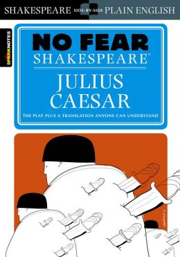 Julius Caesar (No Fear Shakespeare) (PagePerfect NOOK Book)