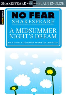 Midsummer Night's Dream (No Fear Shakespeare) (PagePerfect NOOK Book)