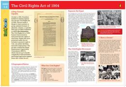 Civil Rights Act of 1964 (FlashCharts)