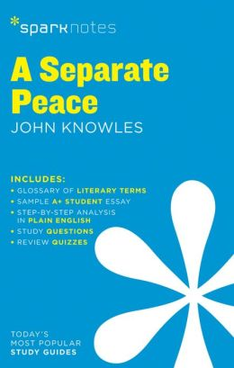 A Separate Peace (SparkNotes Literature Guide Series)